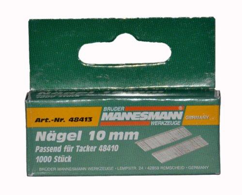 Mannesmann Ersatznägel 10 mm, für Tacker 48410, M48413