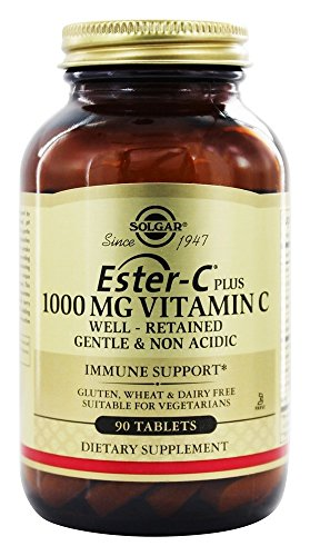 Solgar Ester-C Plus 1000 mg - 90 tablets
