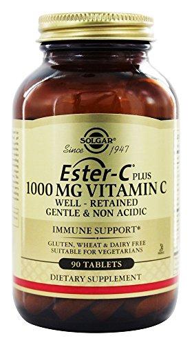 Solgar Ester-C Plus 1000 mg - 90 tablets