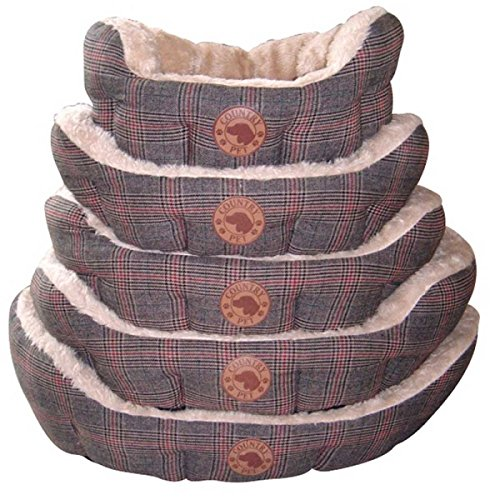 Country Pets CP288226 Hundebett Luxury Tweed, Handgefertigt, 60 x 50