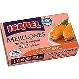 Isabel mejillones en escabeche 8/12- Pack de 6 und.