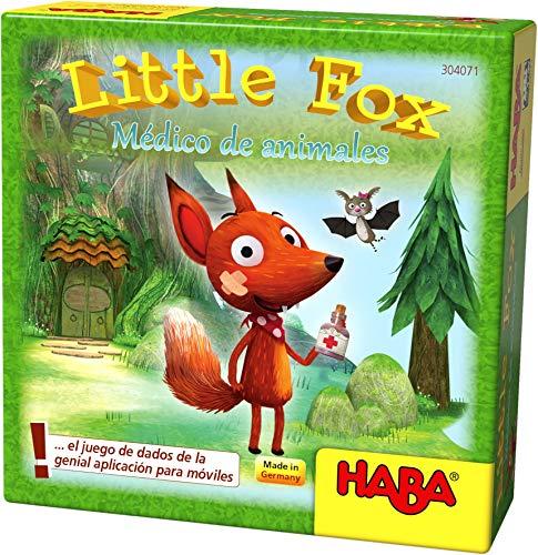 HABA- Juego de Mesa, Little Fox - Médico de Animales, Multicolor...