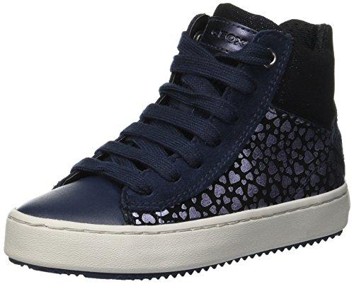 Geox Mädchen J Kalispera Girl D Hohe Sneaker, Blau (Navy C4002), 28 EU