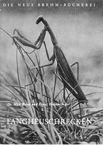 Fangheuschrecken (Die Neue Brehm-Bücherei / Zoologische, botanische und paläontologische Monografien)