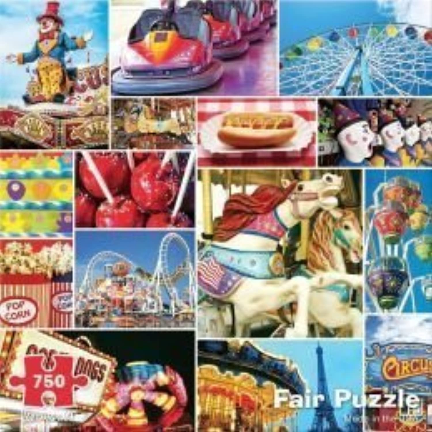 Fair 750 Piece Puzzle by Re-Marks