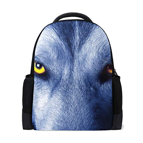 Hakuba Backpack for Girls Boys for Middle Primary School Cute Bookbag Outdoor Daypack 16 in (L) x 6 in (W) x 11 in (H)
