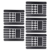 Apofly 5PCS Bike Protection Sticker Frame Bike Frame Protection, MTB Stickers, Chain Protective Guard Pad Bicycle Chainstay Protector Decal for Protective Bike