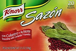 Knorr Sazon Kolorao 20-Count Box (Pack of 18)