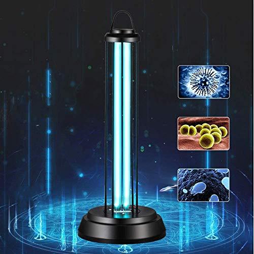 Luz UV, luz de desinfección UV-C, lámpara germicida UV portátil con control...