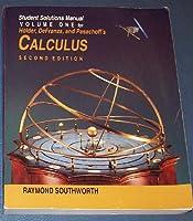 Student S.M. Vol 1 - Calculus 0534233074 Book Cover