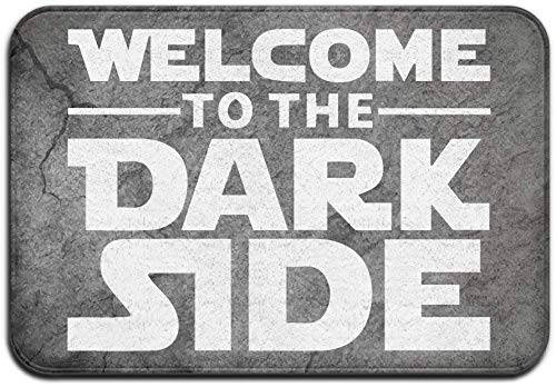 BLSYP Felpudo Welcome To The Dark Side Entrance Mats