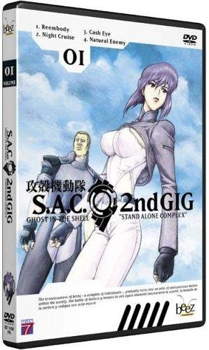 Ghost In The Shell : Stand Alone Complex S.A.C. 2nd GIG, vol.1