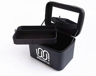 {ツネユウ}コスメボックス メイクボックス トレンチケース 鏡付き かわいい 収納ケース ビューティー 用品 化粧品入れ ネイル 小物入れ ブラック プロ仕様 ネイル ローズ