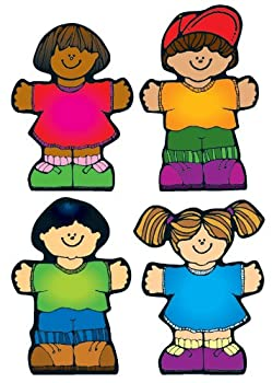 Carson Dellosa – Kids Colorful Cut-Outs Classroom Décor 36 Pieces