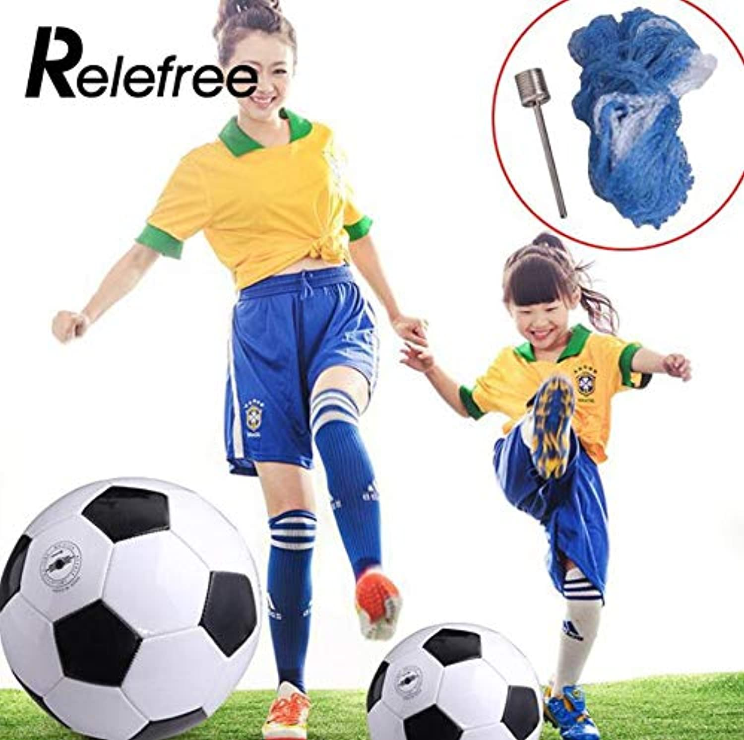 Relefree 2017 1 Pcs Teenagers Training Balls Football Ball Gift School Sports Football