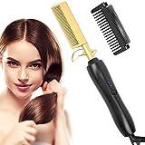 Cepillo alisador de pelo, cepillo alisador con tecnología i