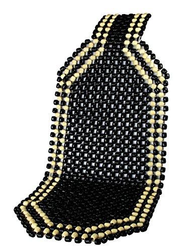 IWH 011140 Holzkugel - Sitzauflage Black, Schwarz