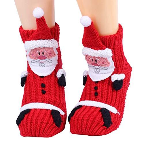 Calcetines de Navidad Mujer