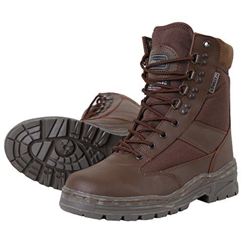Half Leather/Half Cordura Kombat UK Bottes De Patrouille Homme Taille 13