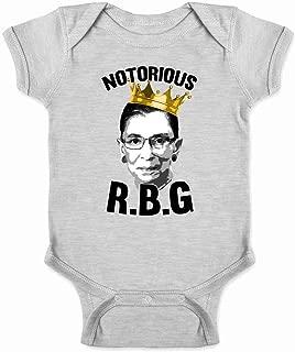 Notorious R.B.G. RBG Supreme Court Political Infant Baby Boy Girl Bodysuit