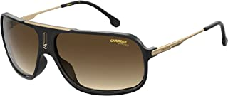Carrera Women's Cool65 Rectangular Sungl, Black/Brown Gradient, 64mm, 12mm