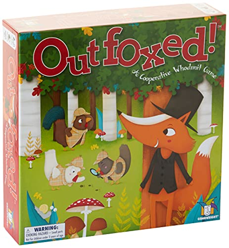 Gamewrigth Outfoxed! A Cooperative Whodunit Board Game for Kids