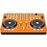 DJ-Tech I-Mix Actualizar Scratch DJ Mixer y el controlador de USB (USB 2.0) de naranja