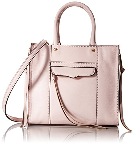 Rebecca Minkoff Side Zip Mab Tote Mini, Baby Pink