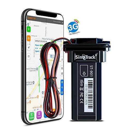 SinoTrack 901W 3G GPS Tracker per veicoli, mini localizzatore GPS per auto dispositivo di localizzazione in tempo reale, localizzatore GPS per auto moto impermeabile per camion taxi