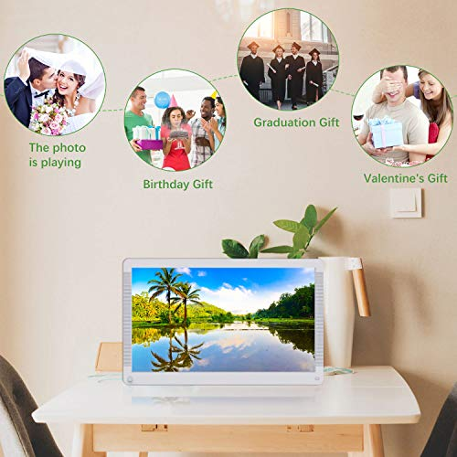 Atatat Digital Picture Frame 17.3 inch with Motion Sensor, 1920x1080 FHD Screen,...