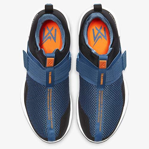 Product Image 2: Nike Men's Metcon Sport Black/Total Orange-Thunderstorm-White Training Shoes