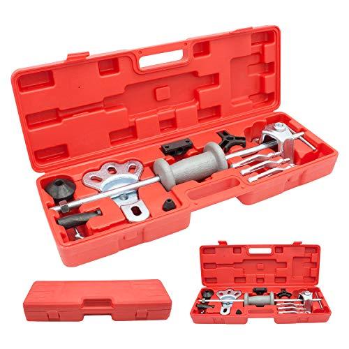 Extractor de cojinetes de rueda de TolleTour, herramienta de extracción, con martillo deslizante