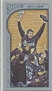 JOSH BECKETT LIMITED EDITION COLLECTIBLE BASEBALL CARD - 2015 TOPPS GYPSEY QUEEN BASEBALL CARD #340 (SHORT PRINT SERIAL NUMBER 131/199 - SILVER MINI SHORT PRINT) FLORIDA MARLINS / FREE SHIPPING
