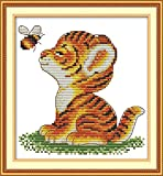 J-Love Awesocrafts Tigre y Abeja Animales Patrones fáciles Kit...