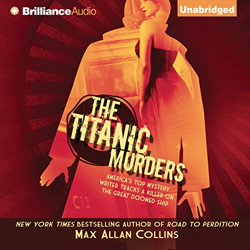 The Titanic Murders audiobook cover art