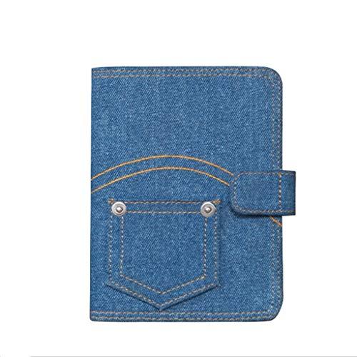 HJHJ Cuadernos Antecedentes Duro de la Cubierta Diario Dril de algodón, Dril de algodón A5 A6 Notebook, portátil Planificación, Diversión y Notebook Duradero (6,4'X8.8, 4.7'X6.4) blocs de Notas