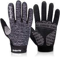 Grebarley Fahrradhandschuhe MTB Handschuhe Mountainbike Handschuhe mit Touchscreen Finger fürs Radsport Road Race...