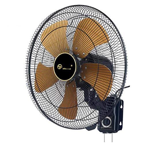 ELLENS Ventilatore a Parete per Servizio Pesante, Ventilatore oscillante a Parete ad Alta velocità da 18 Pollici, Ventilatore a Parete in Metallo Vintage, Applicazioni residenziali e Commerciali