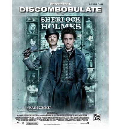 [ Discombobulate (from the Motion Picture Sherlock Holmes): Big Note Piano, Sheet[ DISCOMBOBULATE (FROM THE MOTION PICTURE SHERLOCK HOLMES): BIG NOTE PIANO, SHEET ] By Alfred Publishing ( Author )Apr-01-2010 Paperback
