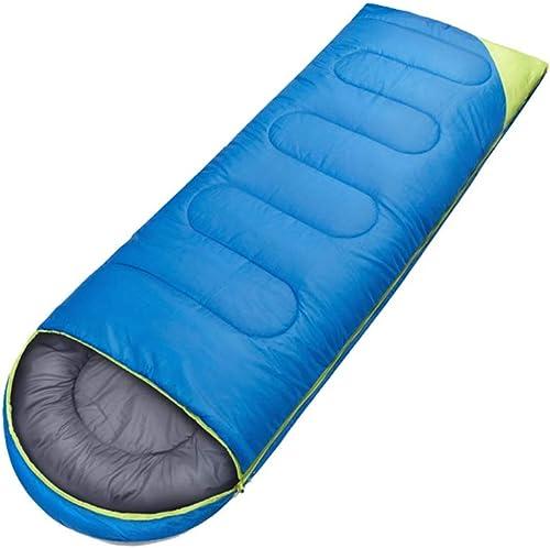 XHCP Sac de Couchage Camping extérieur Multifonctionnel épais et imperméable en Polyester Adulte (Couleur  Bleu foncé)
