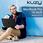 Kuzy Compatible with MacBook Pro 16 inch Case 2019 Release A2141 Plastic Hard Shell Cover for MacBook Pro Case 16 inch… 10 Compatible with MacBook Pro 16 inch Case Designed to Fits Perfectly MacBook Pro 16 inch Models A2141 with Touch Bar Touch ID Release in 2019. Your MacBook Pro will Looks Great in Kuzy Case. No cut out design Logo Shine through the Hard Cover Easy To Install and Fully Vented for safe heat disbursement Hardshell Case with Silky-Smooth Soft-Touch, Smooth yet grippy exterior texture Totally Removable. Protects your MacBook 16 inch from scrapes and scratches. Best 16 inch MacBook Pro Case Features with No cut out design, Apple Logo Shine through the case. Ultra Slick Design Lets you Open and Close your MacBook Pro 16 inch all the way and Access to all USB-C and AUX ports, Cover Weight 13oz. Lightweight and Sturdy