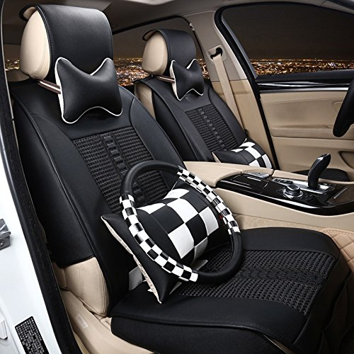 For Sale! Aiyawear Soft Car Seat Pad Breathable Silk Car Seat Five Seasons All Surrounded by The Sea...