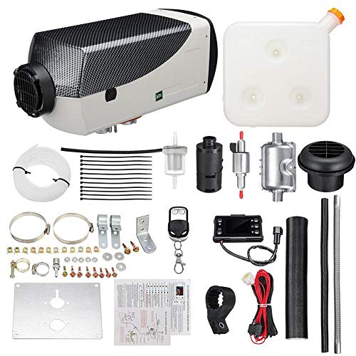 Buy PROKTH 12V/5KW Diesel Air Heater Air Diesel Parking Heater Kit Warming Equipment for Cars, Buses...