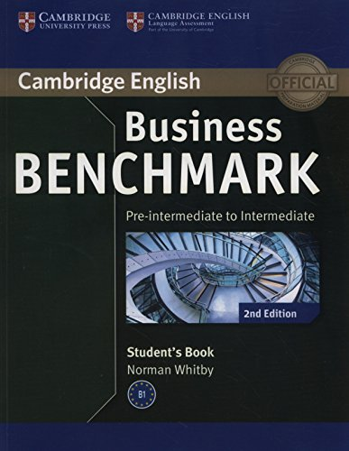 Business Benchmark Pre-intermediate to Intermediate BULATS Student's Book (Cambridge English)