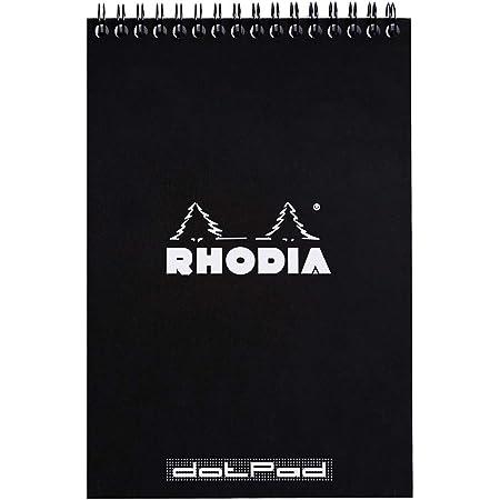 Rhodia Wirebound Notepad, A5, Dot - Black