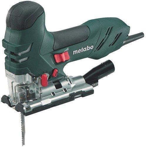 Metabo 6.01403.50 601403500-Sierra de calar STE 140 Plus 750W con maletín, 750 W, 240 V, Negro, Verde