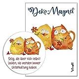 Deko-Magnet »Selig, die über sich selbst lachen«