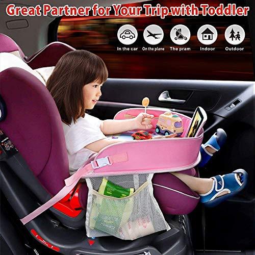 MOIN Reisetablett für Kleinkinder, Baby-Kinderwagen, Spieltisch für Reisen, Snacks, Kinderautositz, Spieltisch