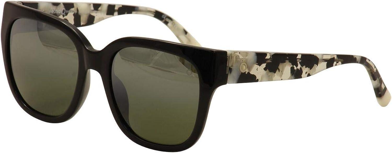 Etnia Barcelona Women's Bonavista BKWH Black White Print Fashion Sunglasses 54mm