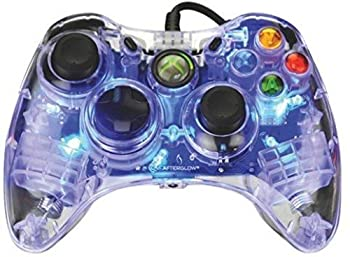 PDP Afterglow Wired Controller for Xbox 360 - Blue - microsoft_xbox_360